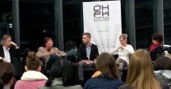 Podiumsdiskussion in der ÖH / FH Graz Campus 02 zum Thema Burnout bei Studierenden